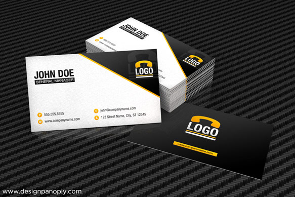 Create a 3d business card mockup in 3d studio max design panoply final product flashek