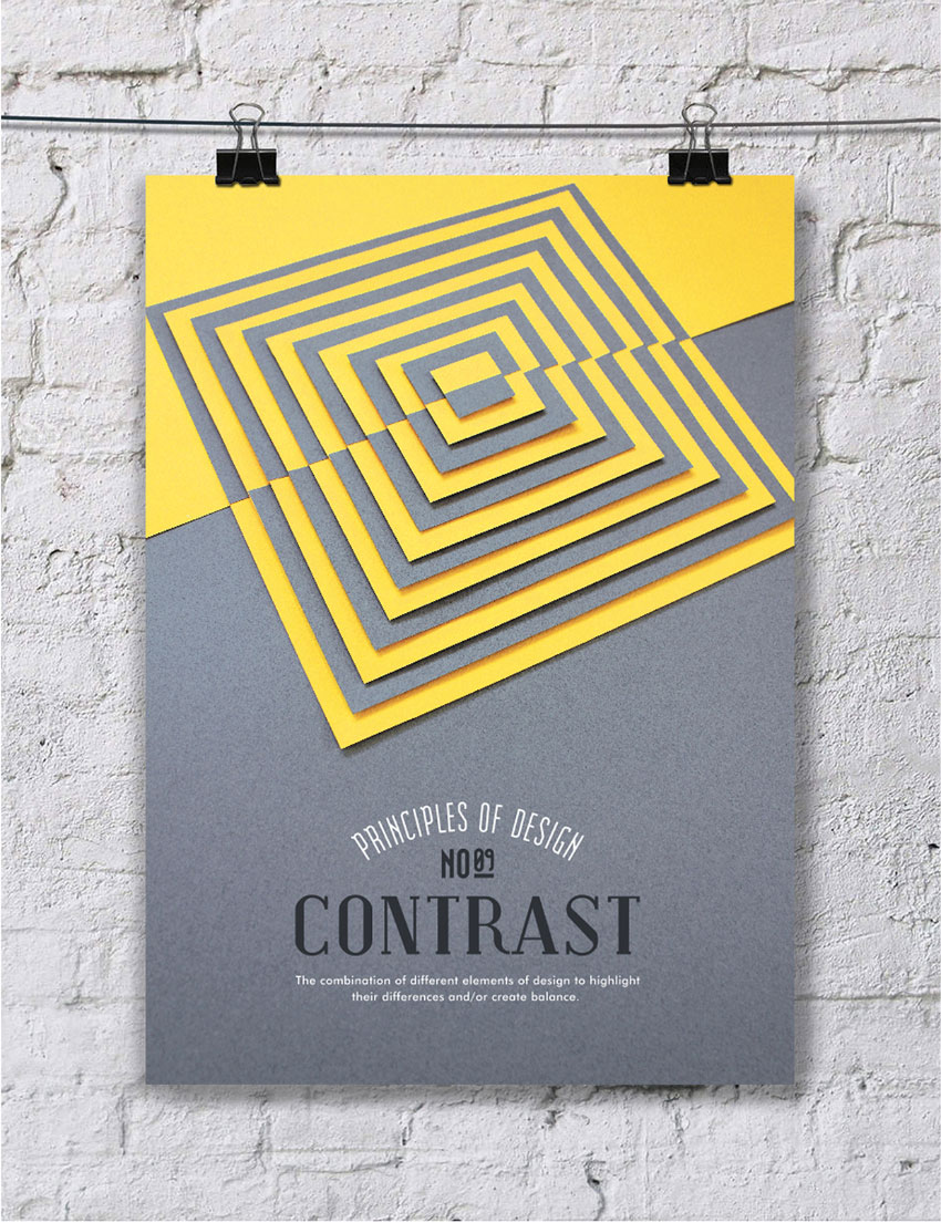 Contrast Element Of Art : Creative inspiration principles of design panoply