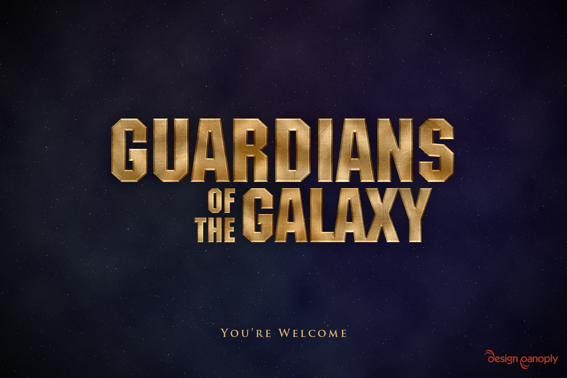 Guardians of the galaxy text effect in photoshop design panoply final image baditri Image collections