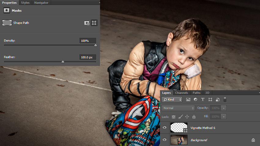 Six Ways To Create A Vignette In Photoshop Design Panoply
