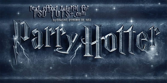 Create a Harry Potter Text Effect in Photoshop
