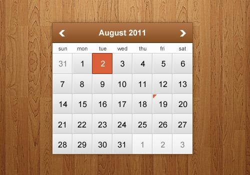 Calendar Design Tutorial : Weekly tutorial roundup design panoply