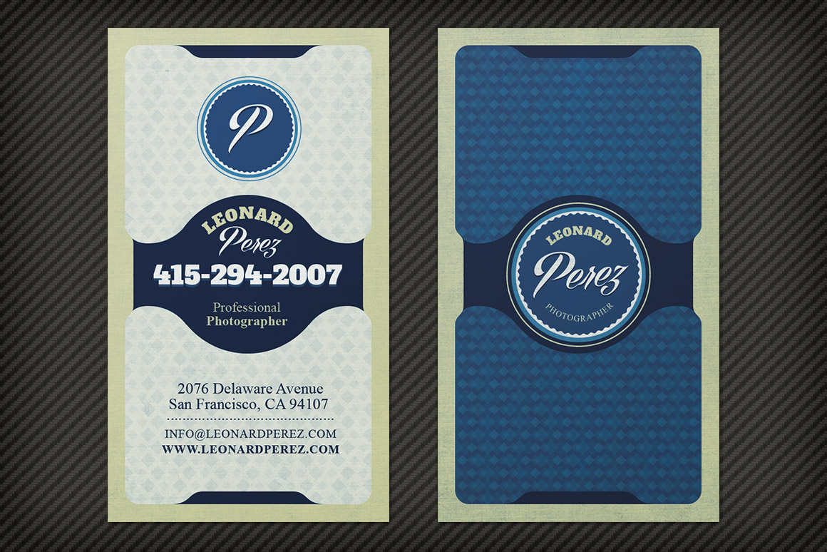Bright, Classy Business Card Template | Design Panoply