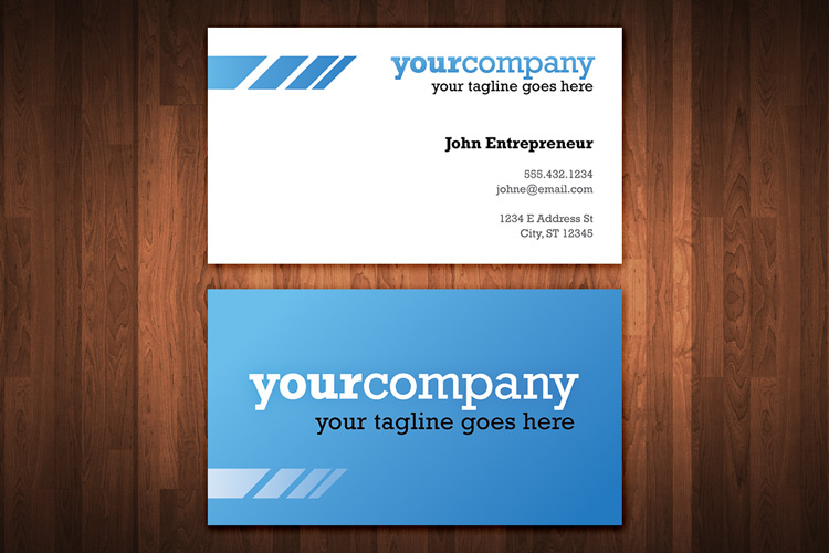 Clean and colorful business card template 1 design panoply clean and colorful business card template 1 colourmoves