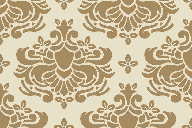 damask pattern 005 design panoply