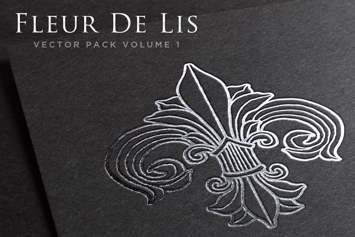 fleur de lis vector pack volume 1 design panoply. Black Bedroom Furniture Sets. Home Design Ideas