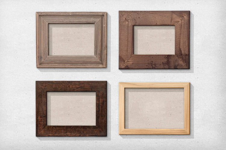 Amazoncom natural wood frame