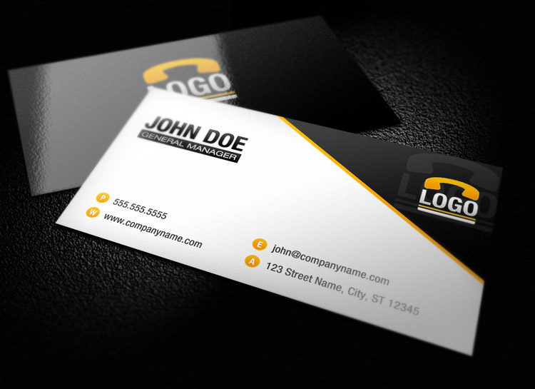 Modern business card template 1 design panoply modern business card template 1 accmission Images