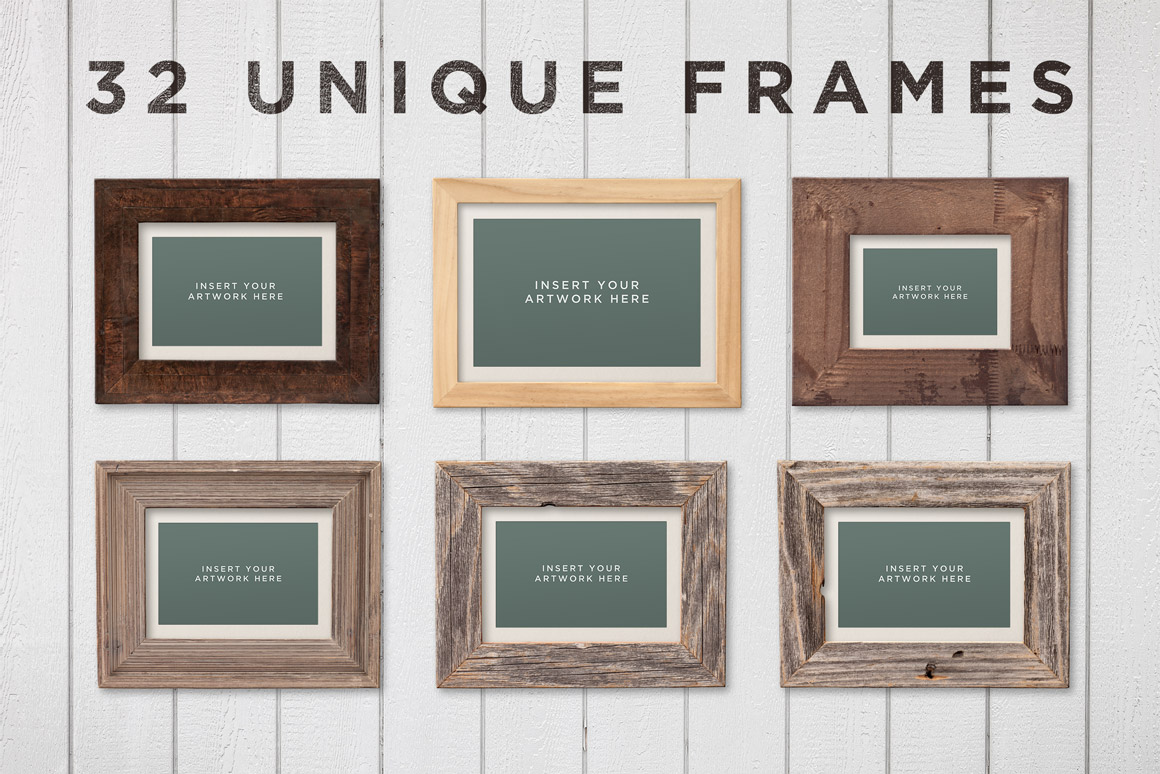 Picture frame mockups volume 2 design panoply picture frame mockups volume 2 jeuxipadfo Images