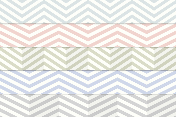 Vintage Chevron Stripes Pattern Pack 1 | Design Panoply