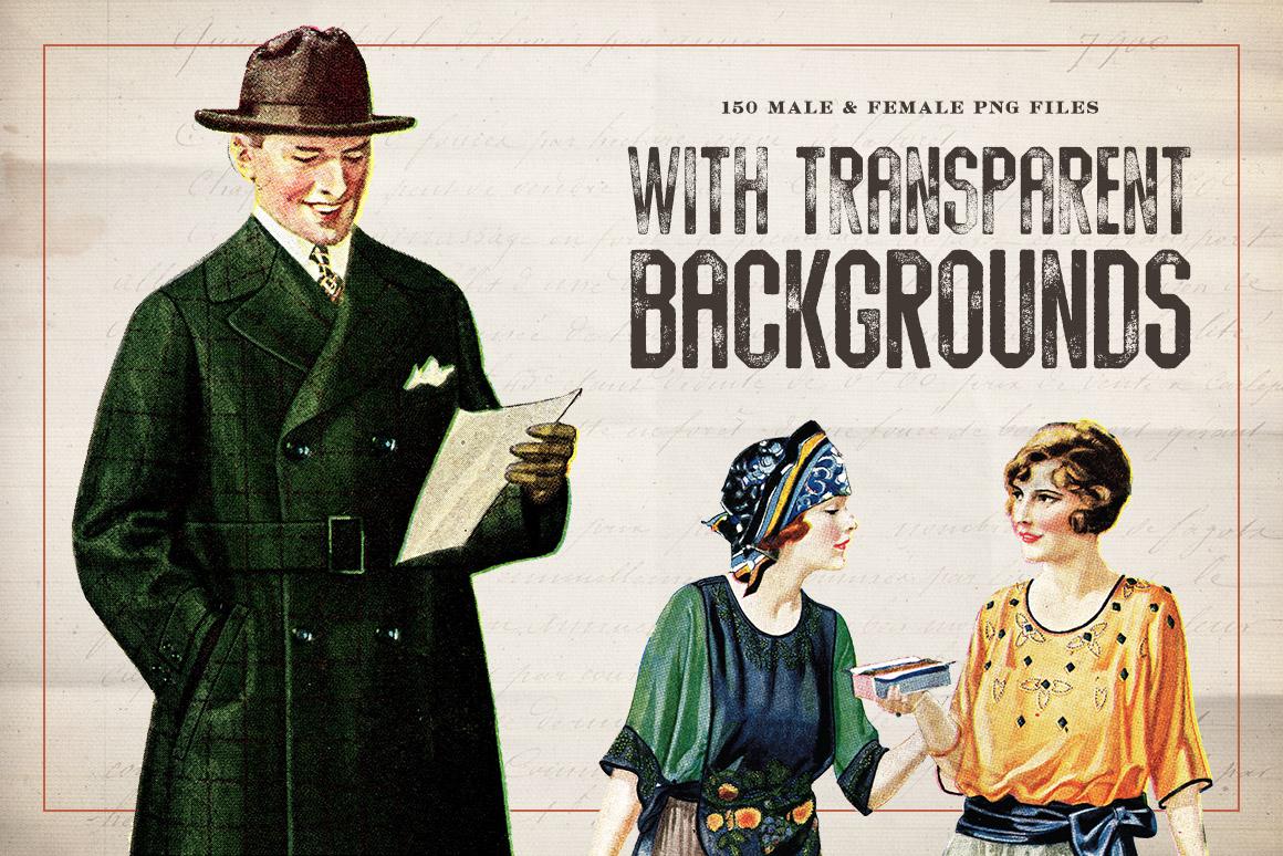 150 Vintage Illustrations Volume 1   Design Panoply