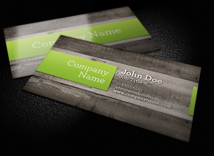 Wood background business card template 1 design panoply wood background business card template 1 wajeb Images
