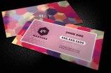 Bold Geometric Business Card Template 1