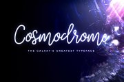 Cosmodrome Monoline Script Font