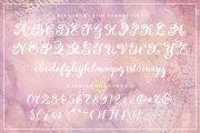 Eiffell Brush Script Font + Extras