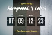 Flipboard Countdown Timer Template