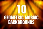 Geometric Mosaic Backgrounds Pack 1