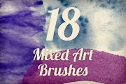 Mixed Art Brush Pack 1