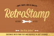 RetroStamp Pressed Ink Effects Volume 1