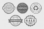 Rubber Stamps Vector Pack Volume 1