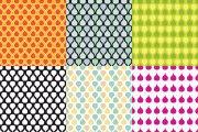Teardrops Pattern 001
