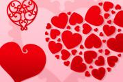Valentine's Day Hearts Vector Pack 1