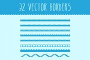Vector Borders Pack 1