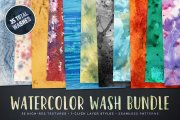 Watercolor Wash Bundle Volume 1