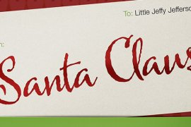How to Create a Colorful Christmas Gift Name Tag in Photoshop