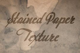 Design Freebie: Stained Paper Texture