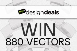 Win 880 Quality Designious Vectors From MyDesignDeals