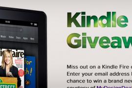 Win a Free Kindle Fire from MyDesignDeals