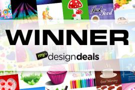 Winner of 4,424 Vector Graphics from MyDesignDeals