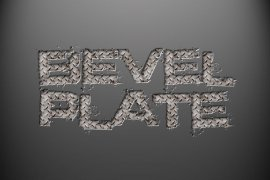 Beveled Plate Photoshop Style