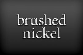 Brushed Nickel Photoshop Style