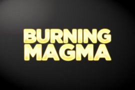 Burning Magma Photoshop Style