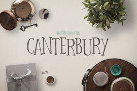 Canterbury Font + Bonus Mockups