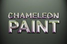 Chameleon Paint Photoshop Style