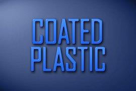 Coated Plastic Photoshop Style
