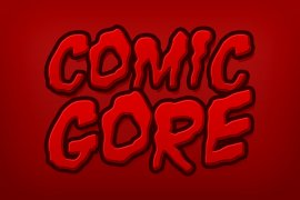 Comic Gore Photoshop Style