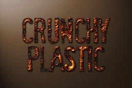 Crunchy Plastic Photoshop Style
