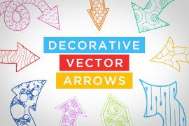 Decorative Vector Arrows Volume 1