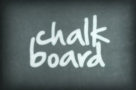 Dusty Chalkboard Photoshop Style