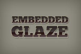 Embedded Glaze Photoshop Style