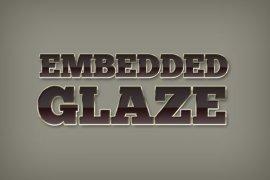 Embedded Glaze Photoshop Style