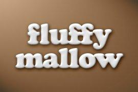 Fluffy Marshmallow Photoshop Style