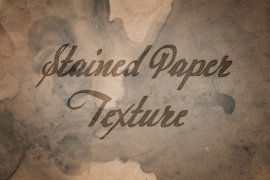 Free Stained Paper Texture