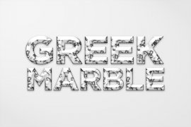 Greek Marble Photoshop Style