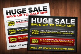 Huge Sale Templates