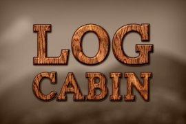Log Cabin Photoshop Style